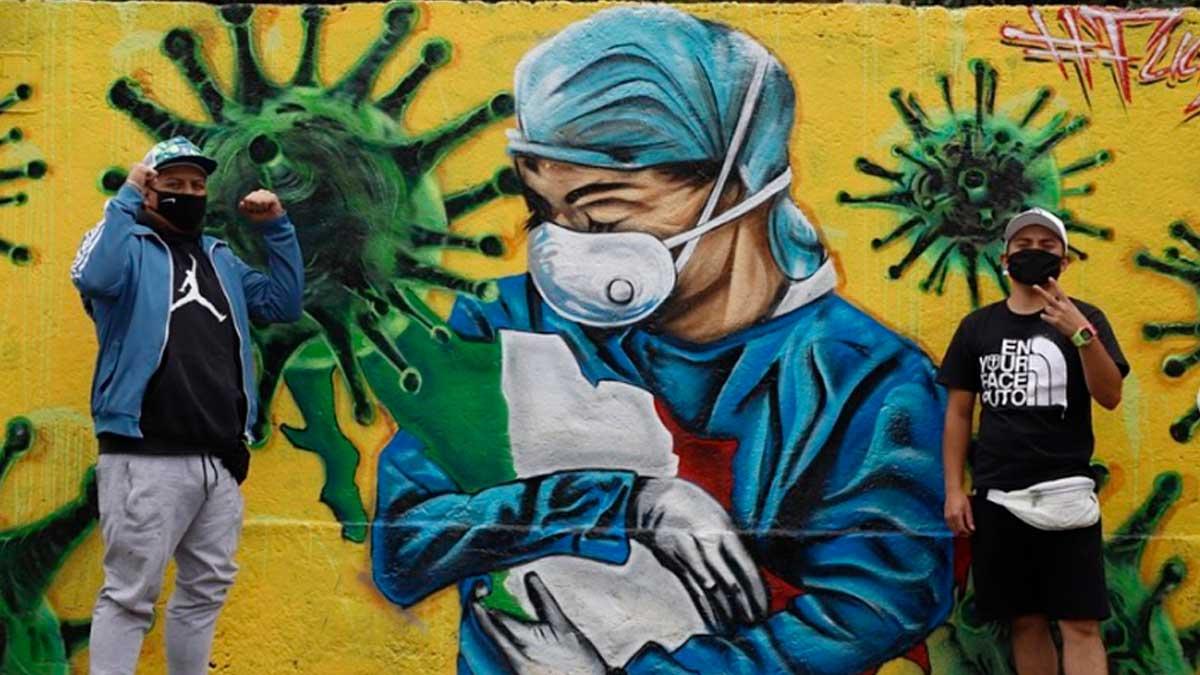 Grafiti-coronavirus