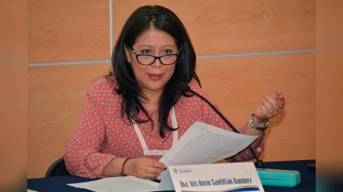 Dra Iris Rocío Santillán Ramírez