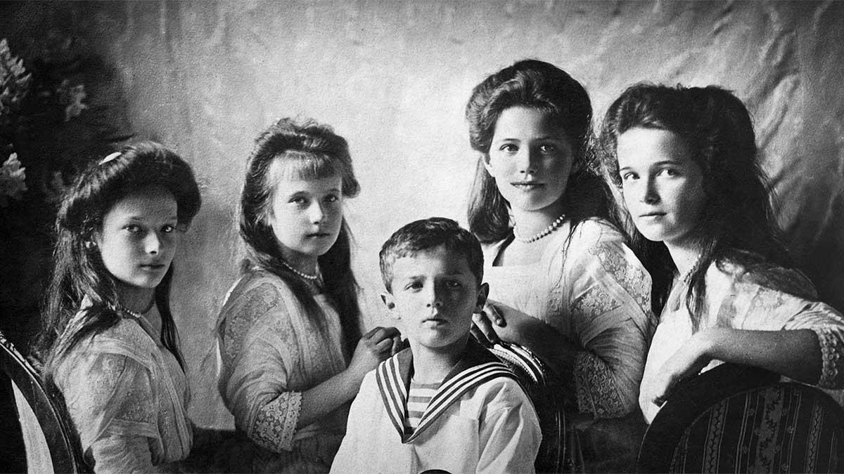 Hijos del zar Nicolas II