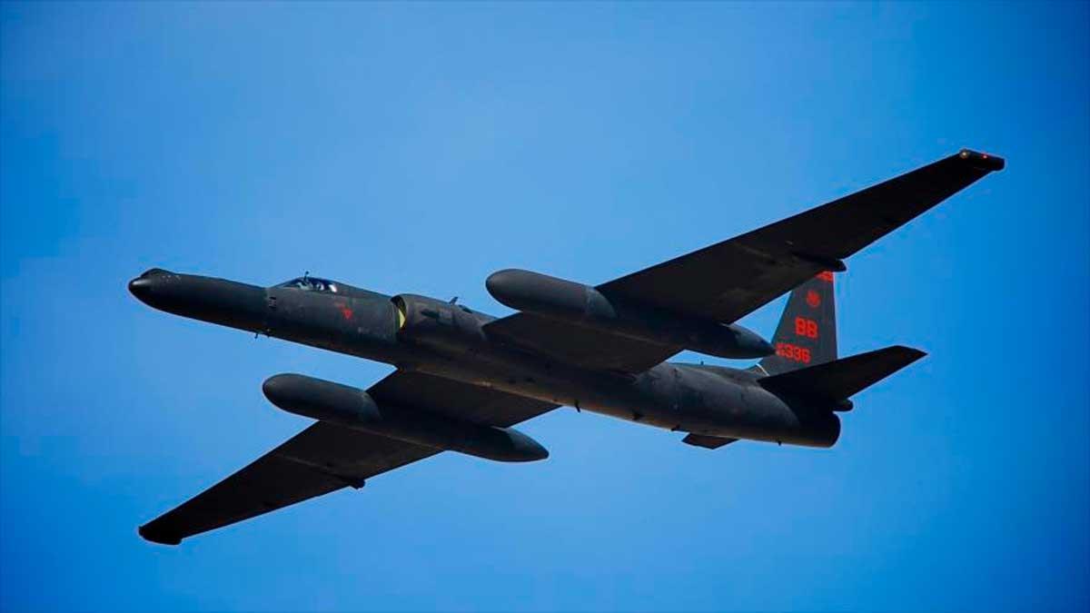 Avion espia estadounidense