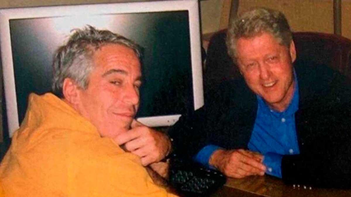 Bill Clinton y Jeffrey Epstein