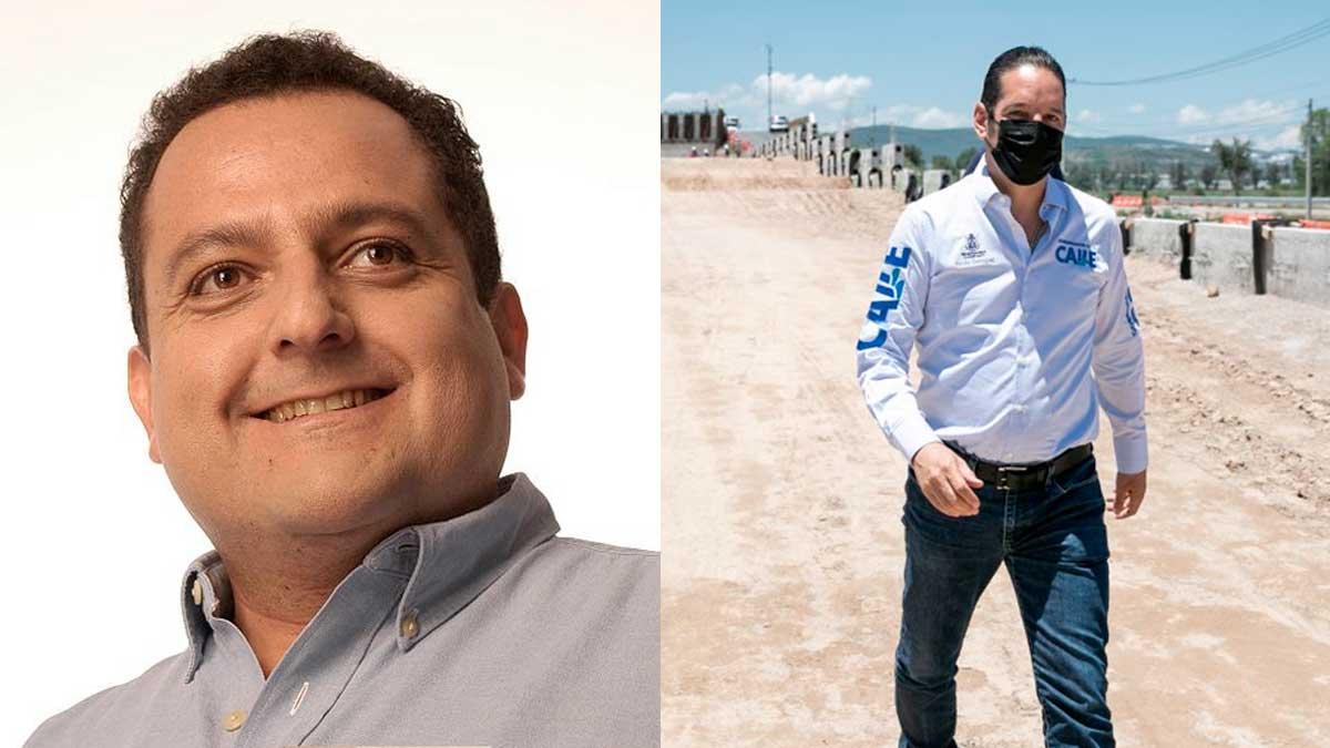 Carlos Mendoza Davis y Francisco Dominguez