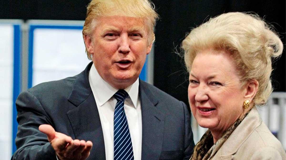Donald y Maryanne Trump