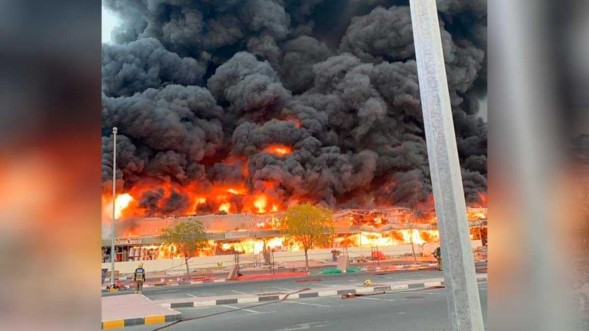 Incendio en Ajman