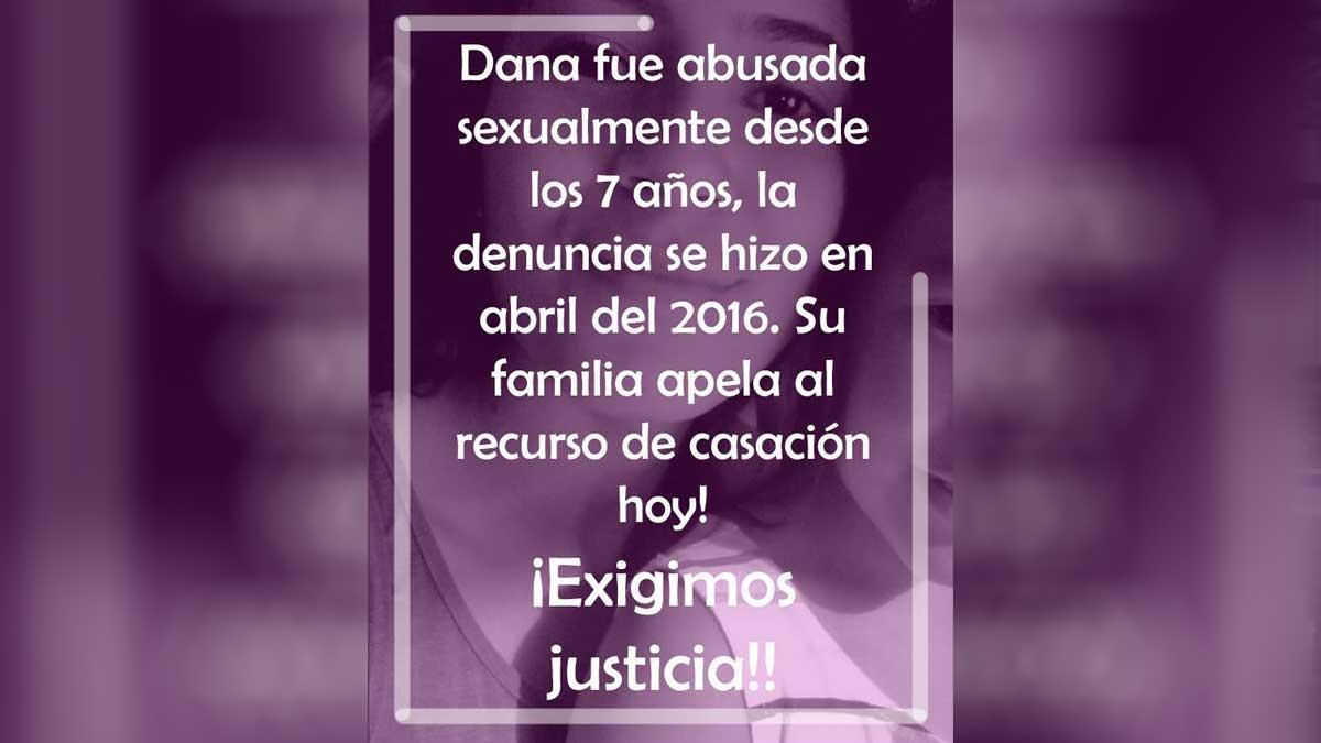 #JusticiaParaDana