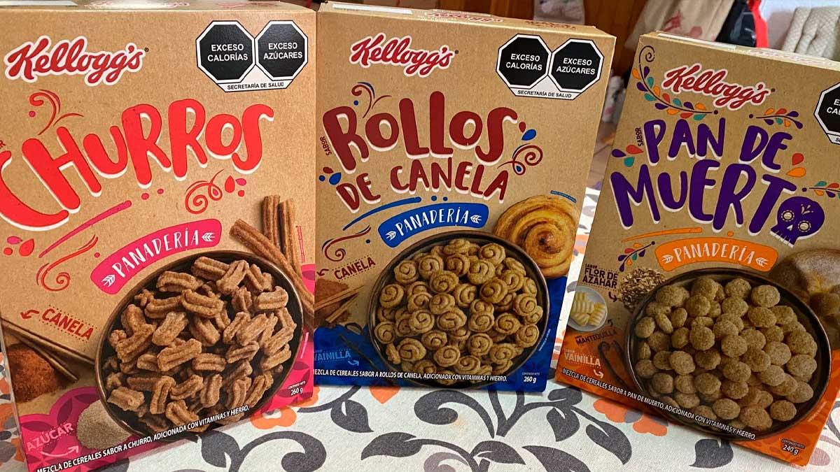 Cereales de Kelloggs