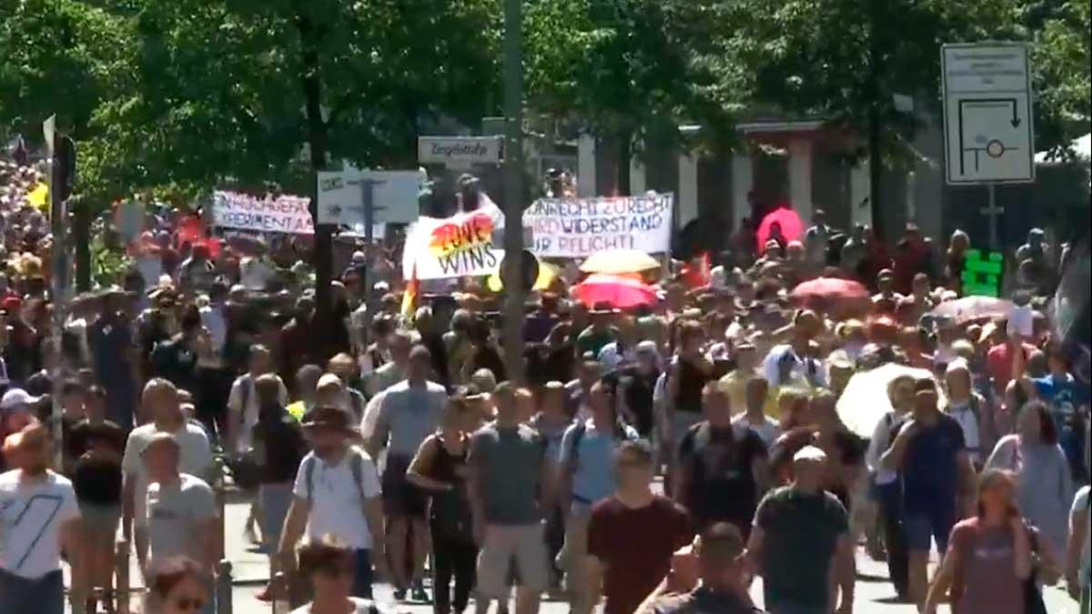Marcha en Berlín