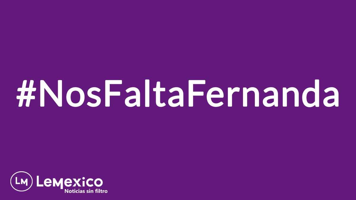 #NosFaltaFernanda