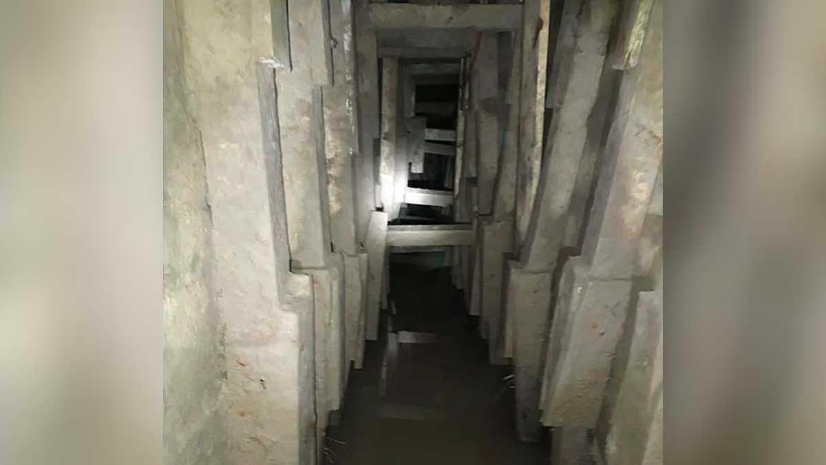 Tunel bajo rio bravo