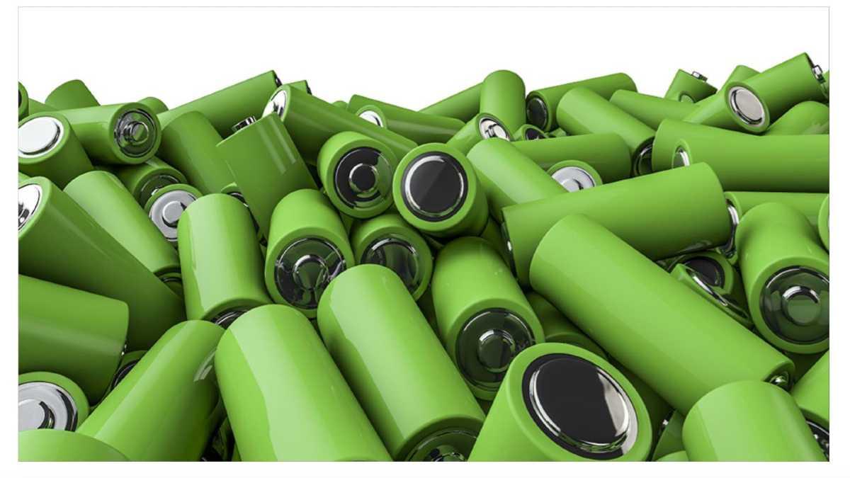 Baterias biodagradables