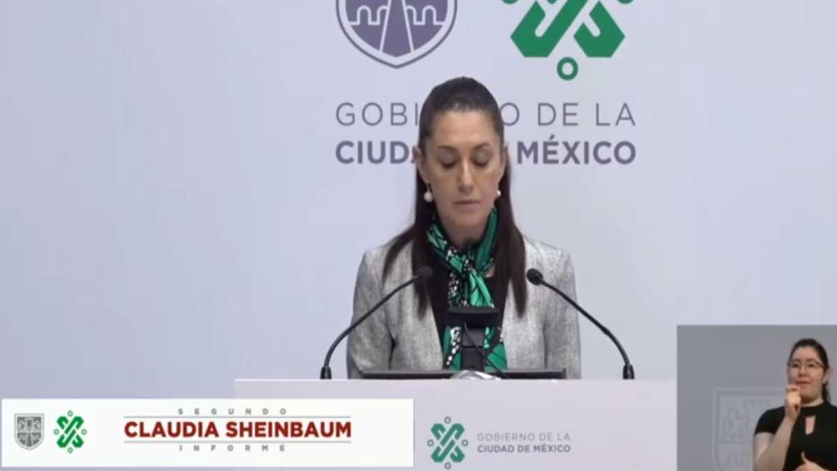 Claudia Sheimbaum Reporte