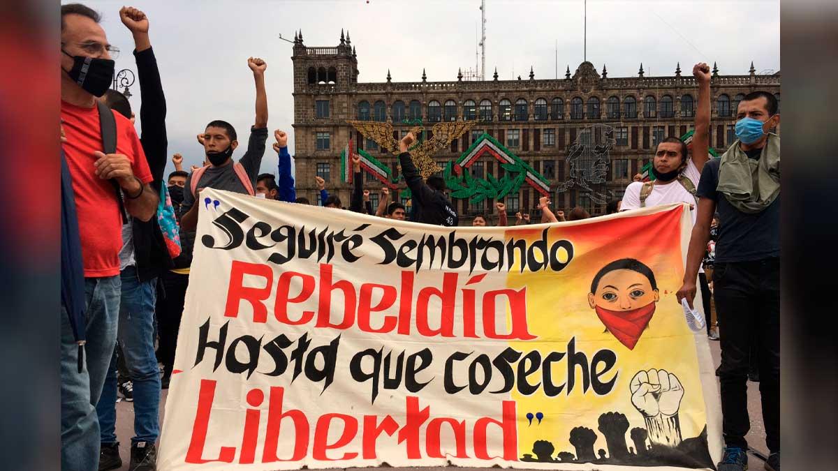 Manifestacion Ayotzinapa