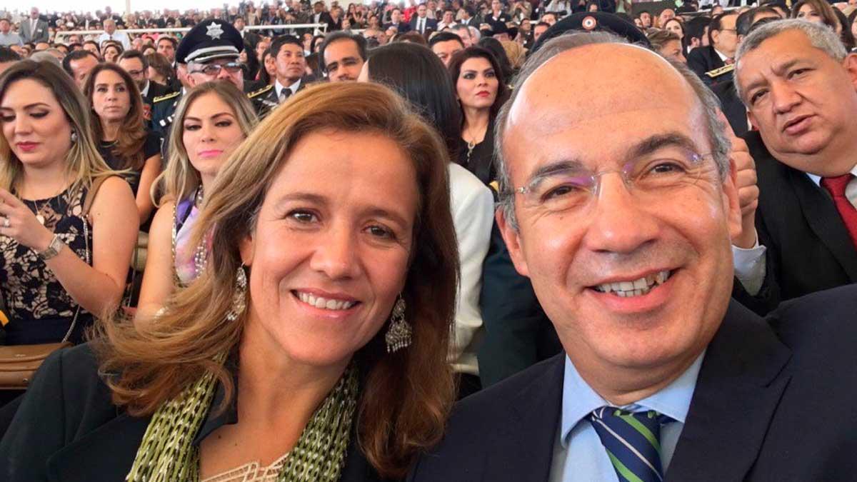 Margarita Zavala y Felipe Calderon