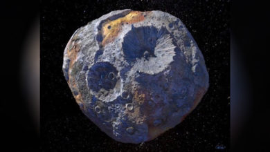 Photo of Asteroide 16 Psyche, una verdadera fortuna por su composición metálica
