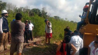 Photo of Pobladores detienen obras de Tren Maya por falta de pagos de indemnización