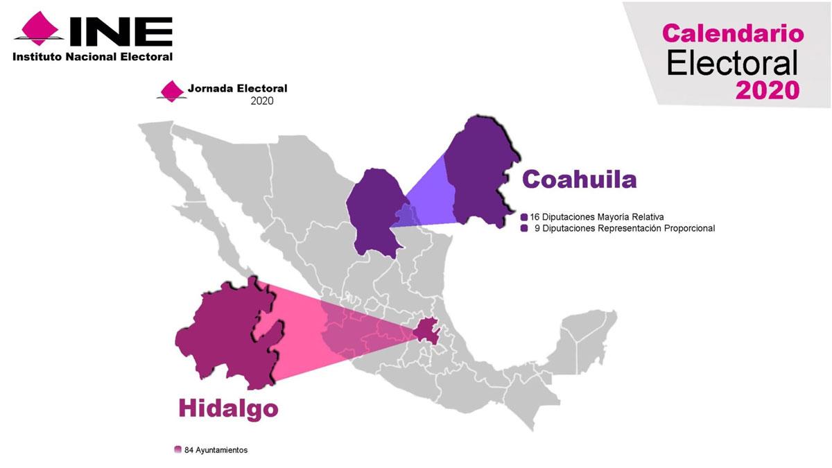 Elecciones Coahuila e Hidalgo