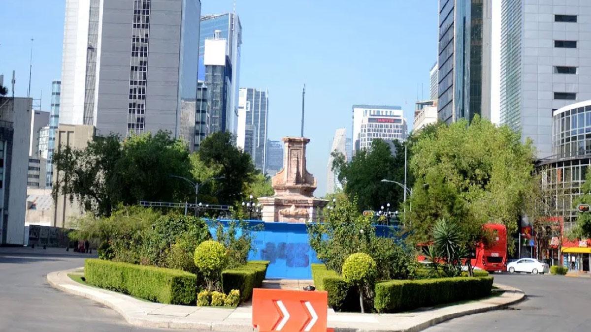 Falta estatua colon