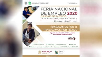 Photo of Feria Nacional del Empleo 2020 será virtual y ofertará más de 25 mil vacantes