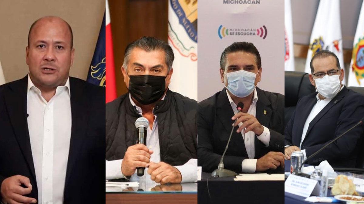 Gobernadores Alianza Federalista
