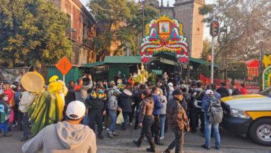 Photo of Pese a la pandemia, fieles acuden para celebrar a San Judas Tadeo