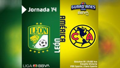 Photo of Juegazo entre León y América para cerrar la Jornada 14. La fiera se impone 3-2