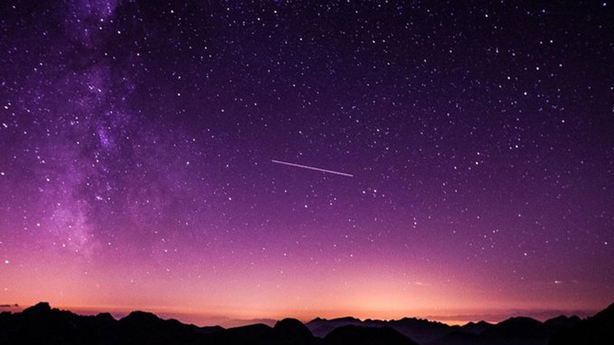 Lluvia de estrellas draconidas