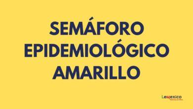 Semaforo epidemiologico amarillo