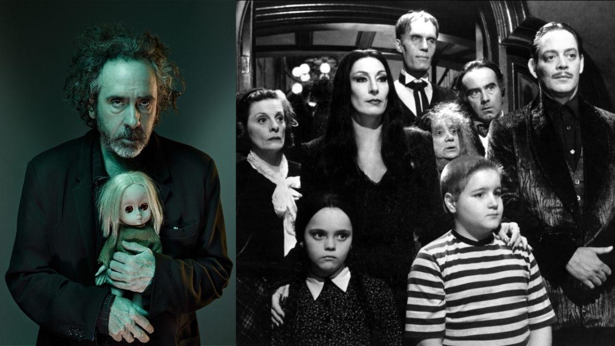 Tim Burton Familia Adams
