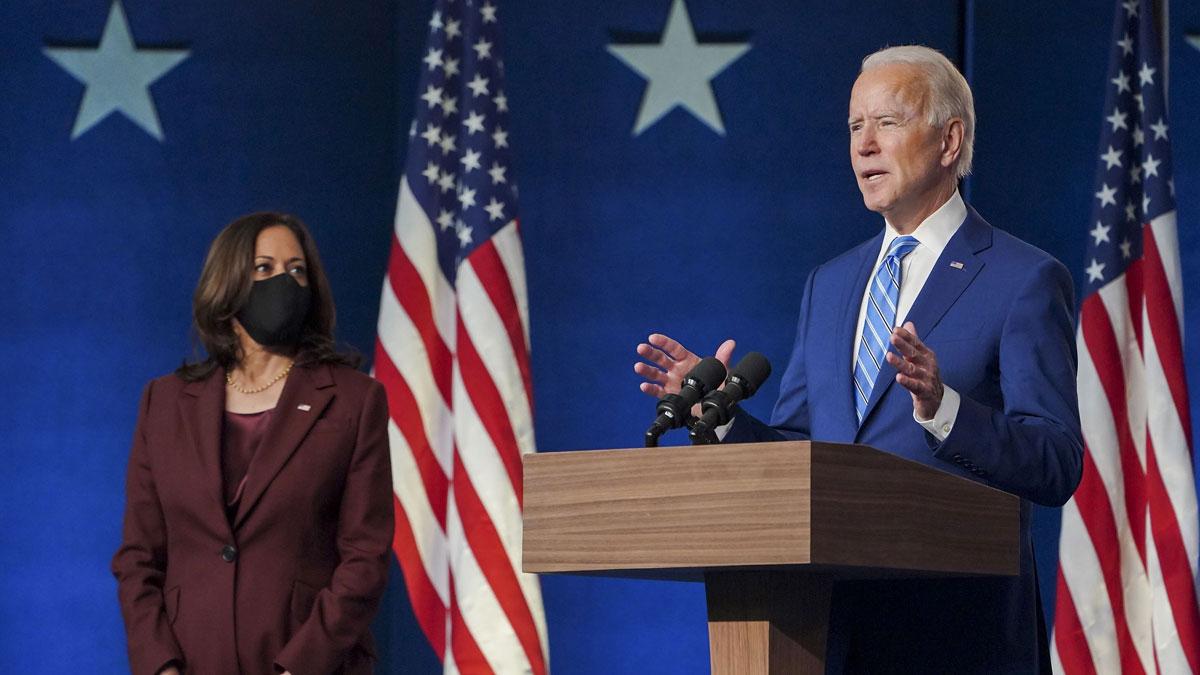 Biden y Harris