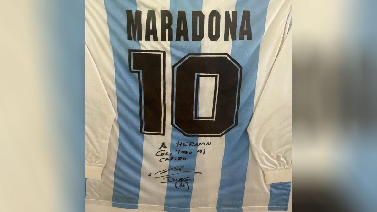 Camiseta 10 Maradona