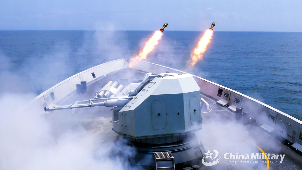 Ejercicios militares China
