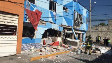 Photo of Explosión en pizzería de Azcapotzalco deja dos heridos y daños en inmuebles aledaños