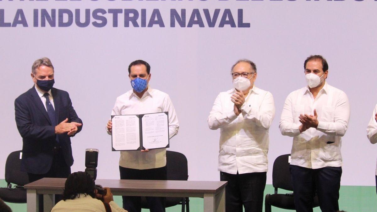 Firma astillero Yucatan