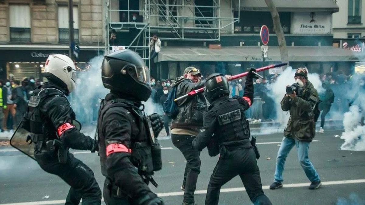 Manifestacion Francia