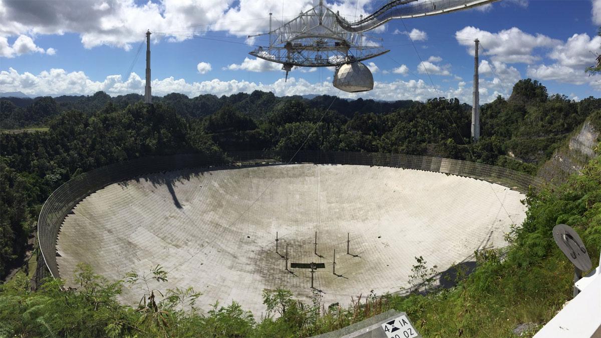 Radiotelescopio observatorio Arecibo