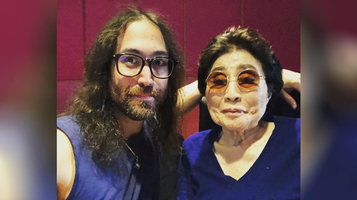 Sean Lennon y Yoko Onno
