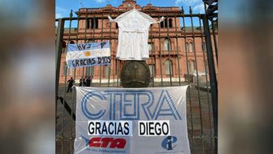 Photo of Incidentes y tensión con la policía en velorio de Diego Maradona en Casa Rosada