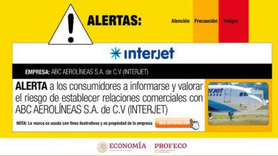 Photo of Profeco emite nueva alerta contra Interjet