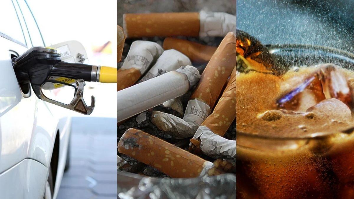 Gasolina, cigarros y refresco