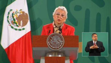 Conferencia matutina Olga Sanchez Cordero