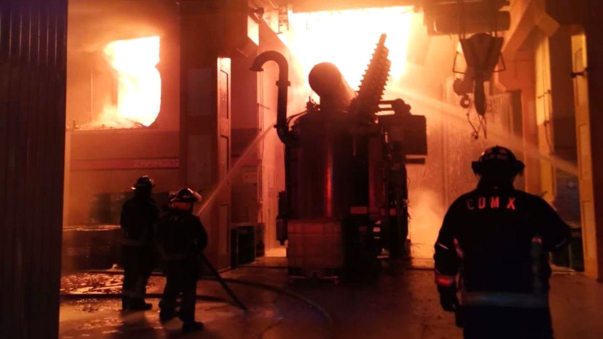Incendio STC Metro