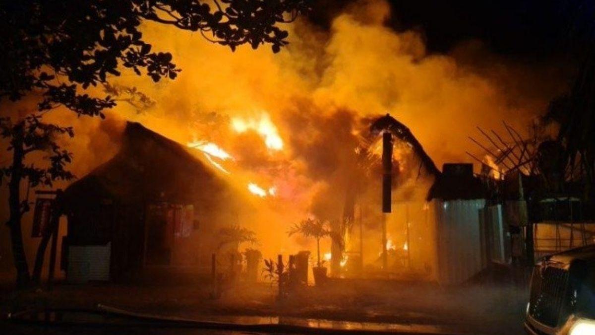 Incendio Tulum