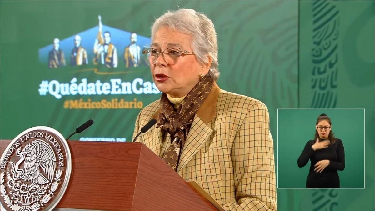 Conferencia mañanera Olga Sanchez
