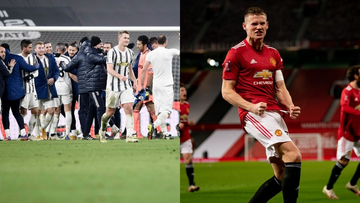 Juventus y Manchester United