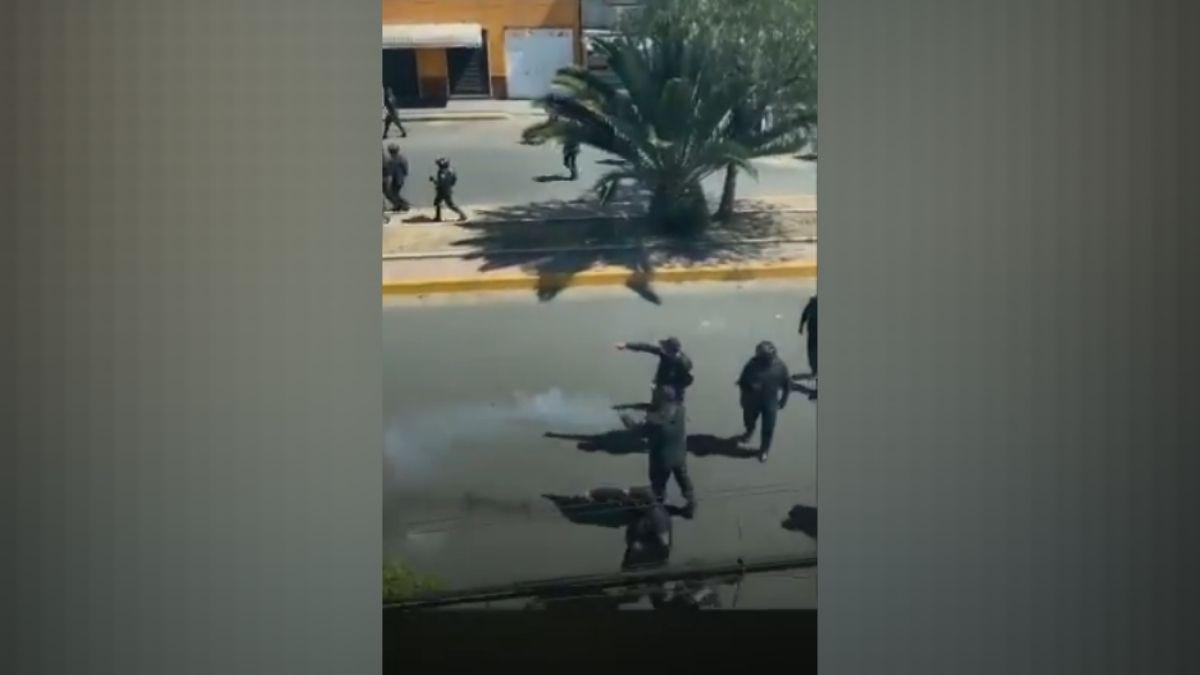 Mototaxistas vs policias