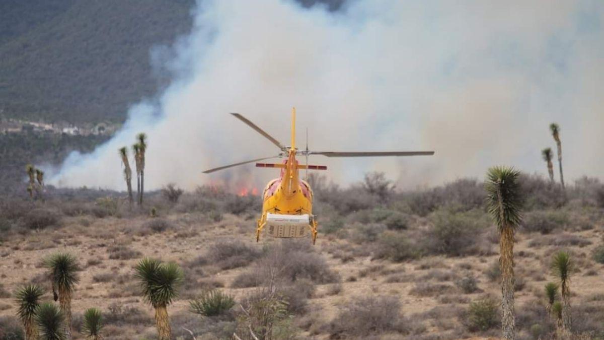 Incendio Nuevo Leon