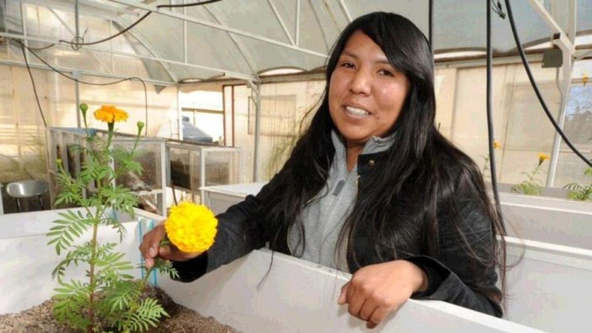 Maria Teresa Ramirez Vega inventora sistema limpia agua