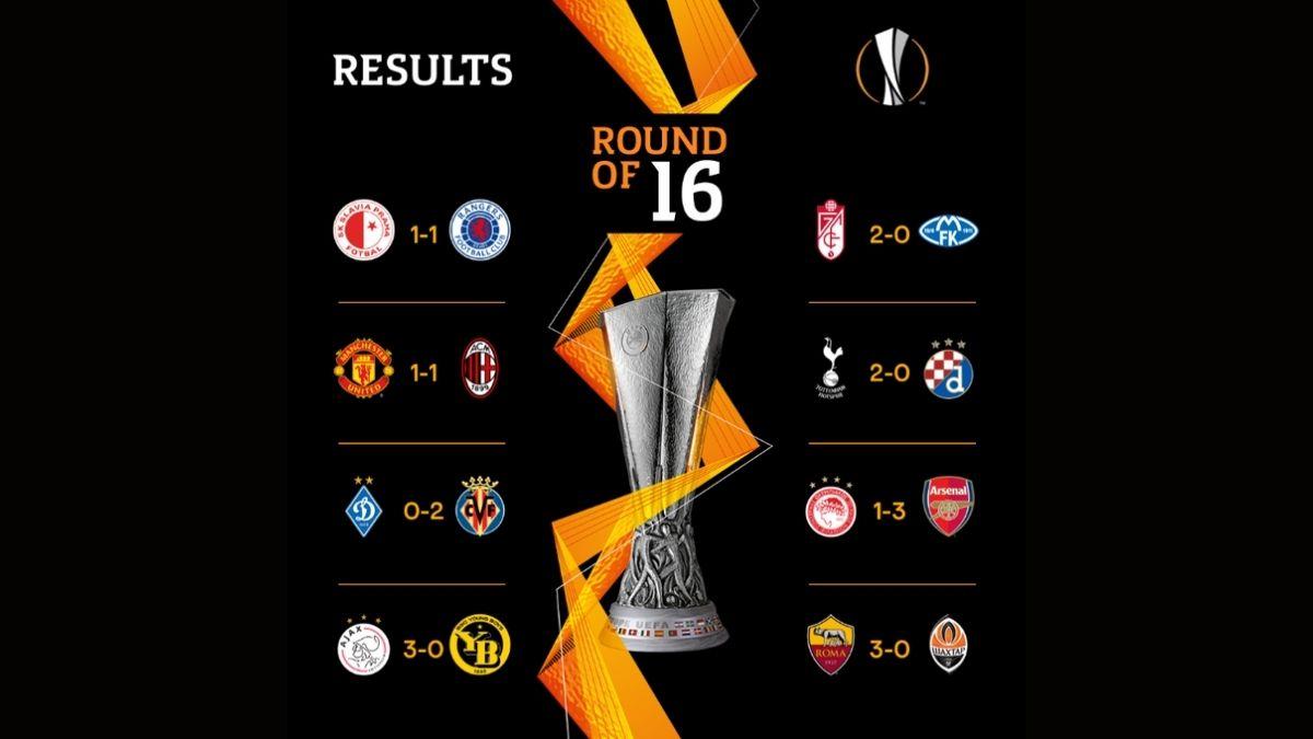 Octavos de Final Europa League