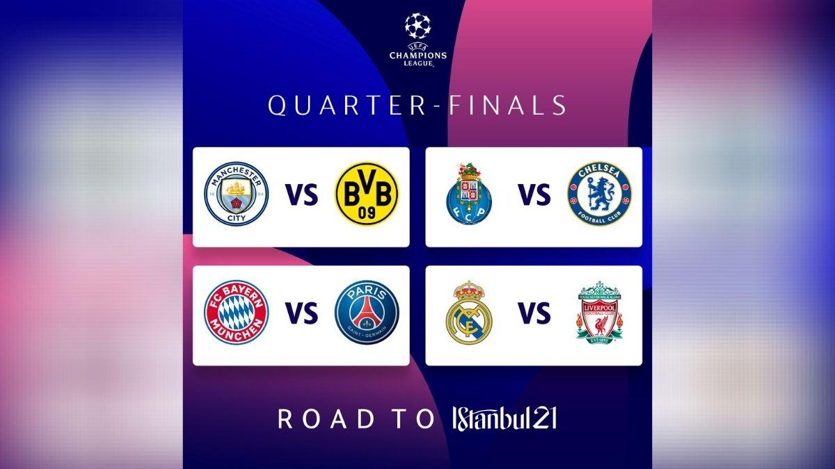 Sorteo Cuartos de Final Champions