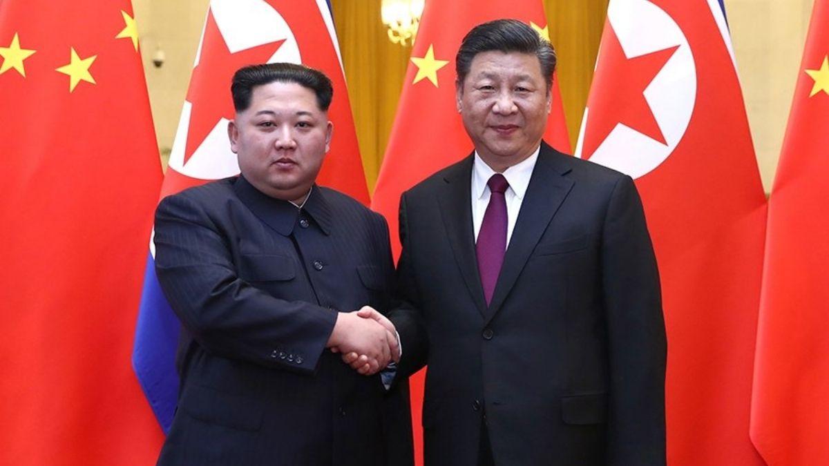 Xi Jinping y Kim Jong-un